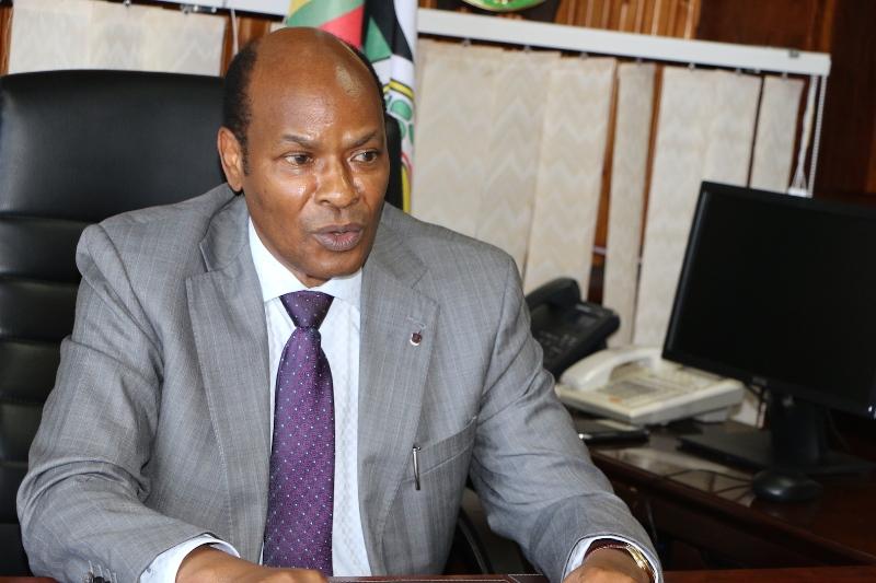 Mwenyekiti wa Tume ya Taifa ya Uchaguzi Jaji (R) Semistocles Kaijage.